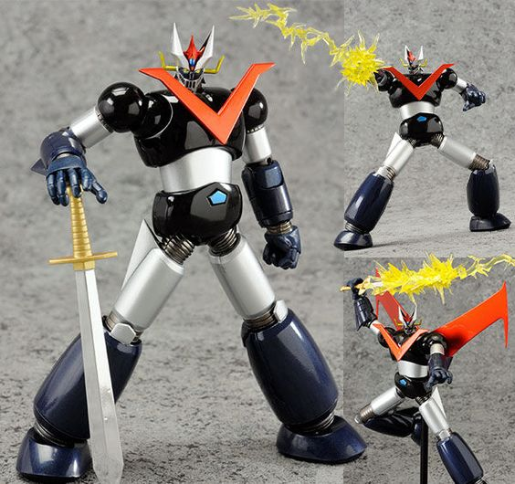 Super Robot Chogokin Great Mazinger Anime Action Figure Bandai Japan