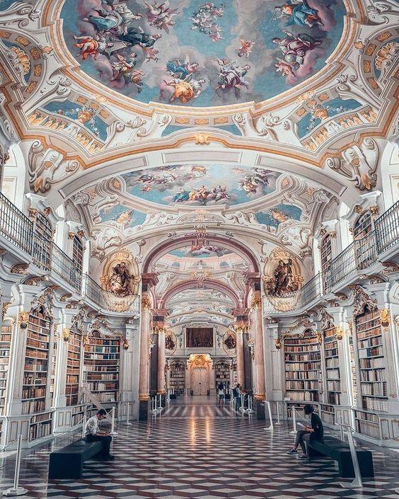 Stift Admont Library //📍#Admont #Austria // ?