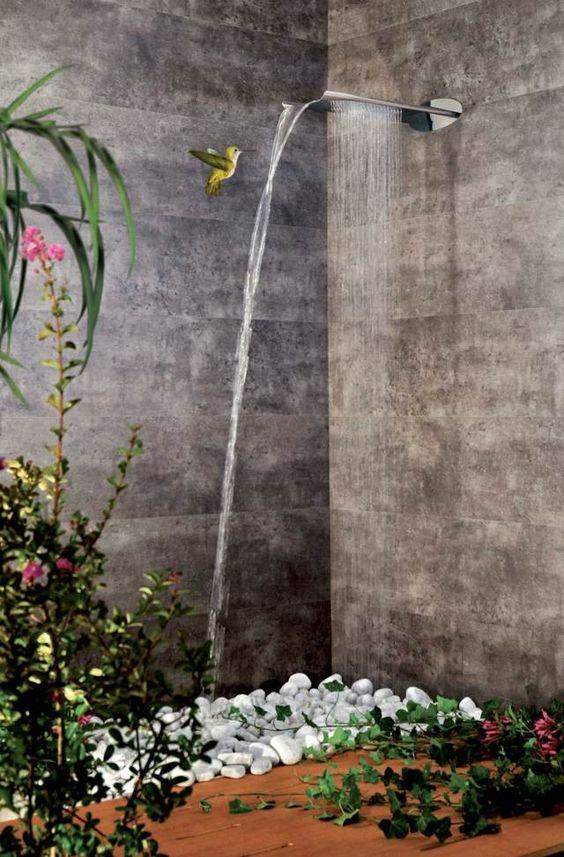 Moderne Duscharmatur u2013 innovative Regendusche von Webert