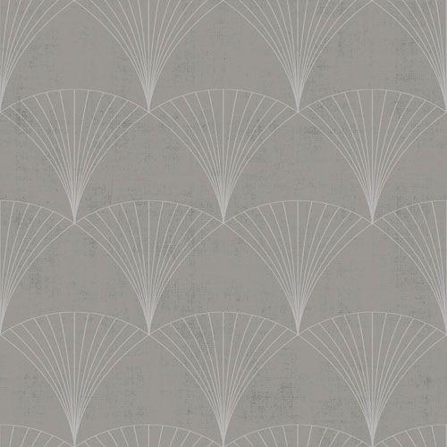 grå tapet med mönster
