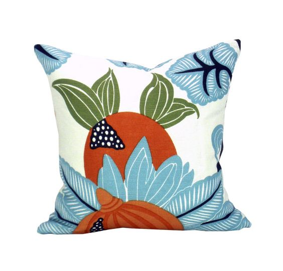 Osborne & Little Maharani pillow cover in by OrangeOliveStudio