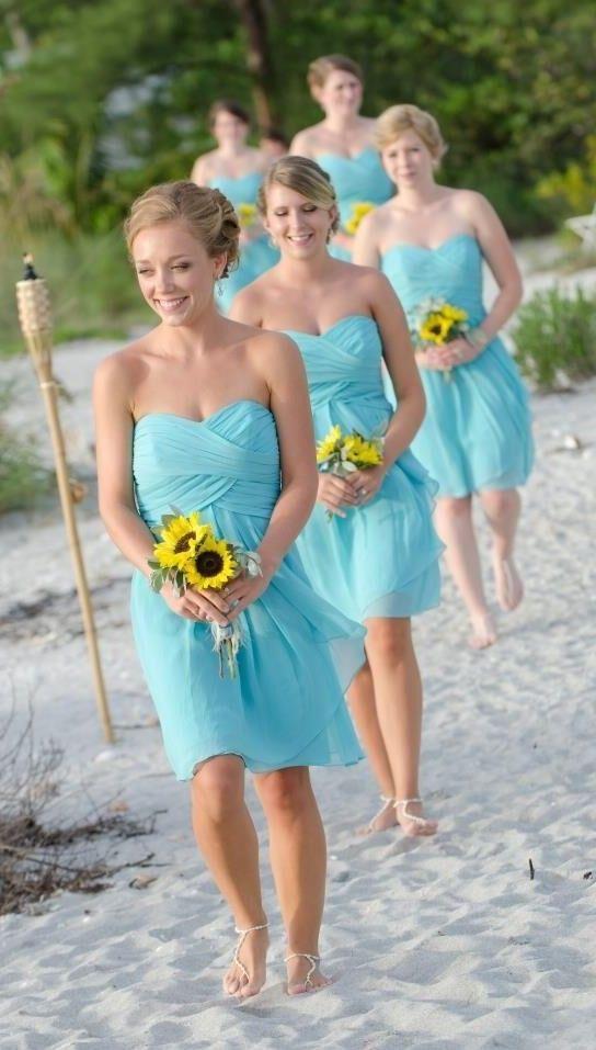 Beach bridesmaid dresses summer bridesmaid dresses tiffany for Beach wedding bridesmaid dresses pinterest