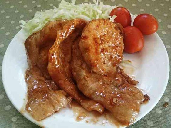 簡単◎生姜焼きのたれ◎と☆豚ロース☆の画像