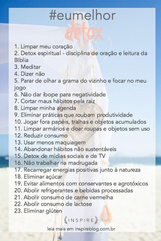 Meu primeiro desafio do ano é um plano de detox de 21 dias! Um detox de corpo, alma e espírito! Quem se anima a fazer esse projeto comigo? #eumelhor #inspireblog #inspireeumelhor #eumelhor2016 http://lifestyle.inspireblog.com.br/projeto-eumelhor-detox-21-dias/:
