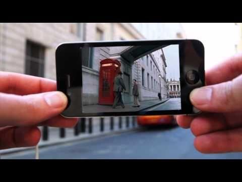 Through an Iphone