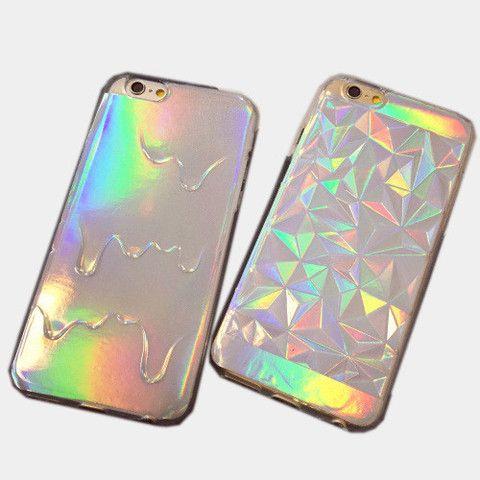 DIAMOND HOLOGRAM IPHONE CASE