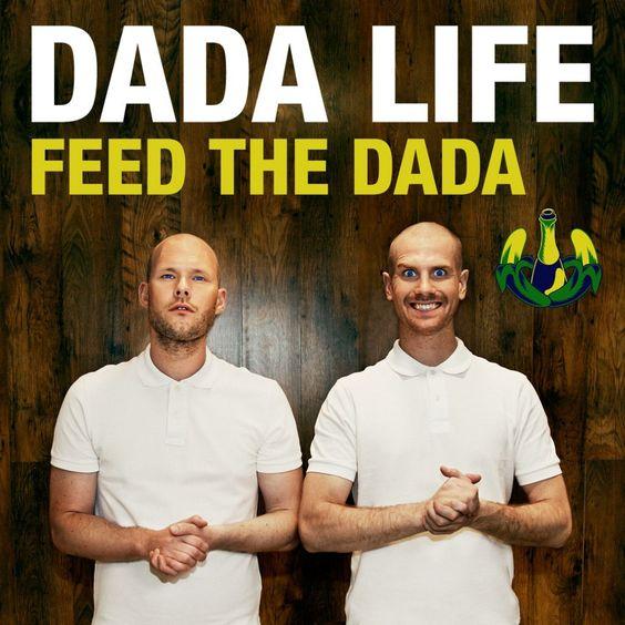 Dada Life – Feed the Dada (single cover art)
