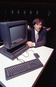 Steve Jobs & the NEXT computer. The NEXT OS would later found the base of OSX when he returned to Apple.