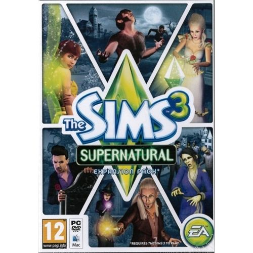 The Sims 3 Download: The Sims 3: Supernatural (Expansion Pack) (PC And Mac