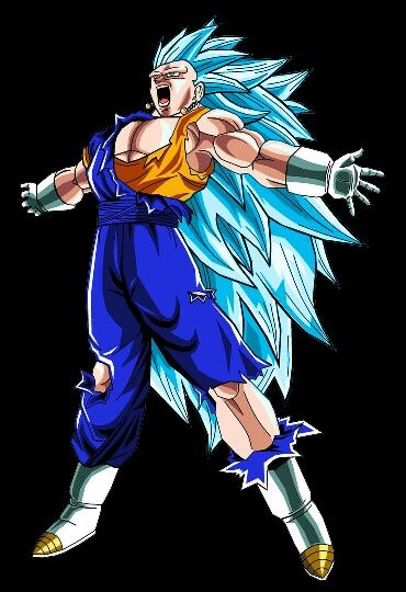 SSGSS OR Super Saiyan Blue Fusion Vegito Anime Pinterest