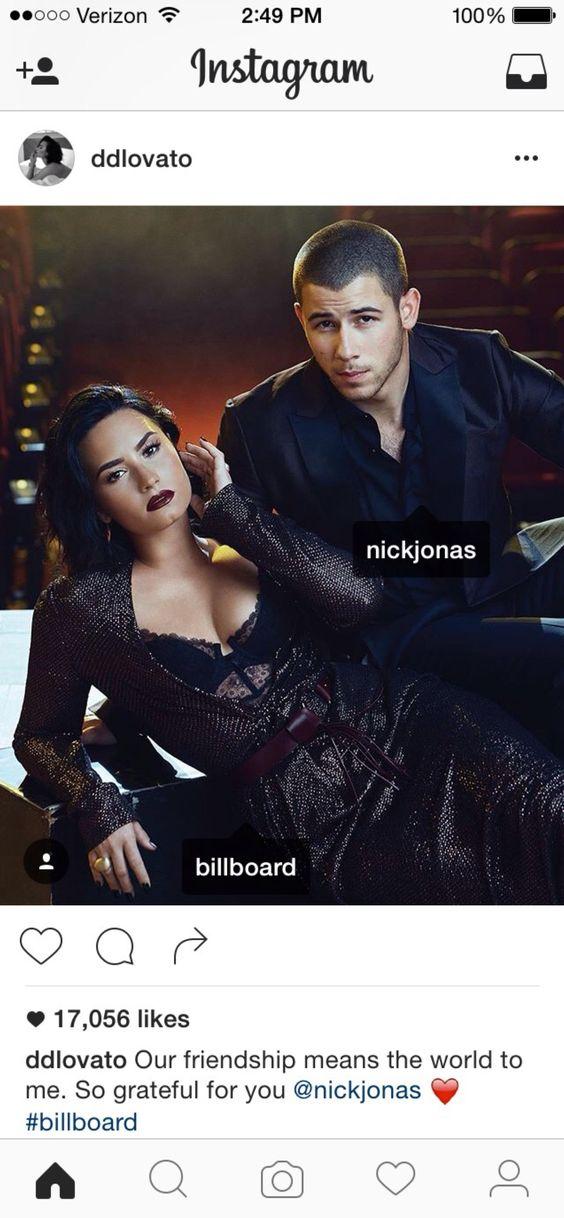 Demi & Nick - Billboard Magazine