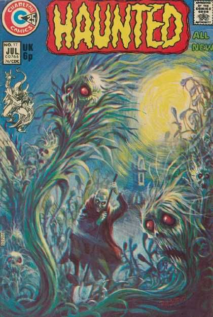 Horror - Charlton Comics - Ghosts - No 17 Jul 74 Edition - Spooky