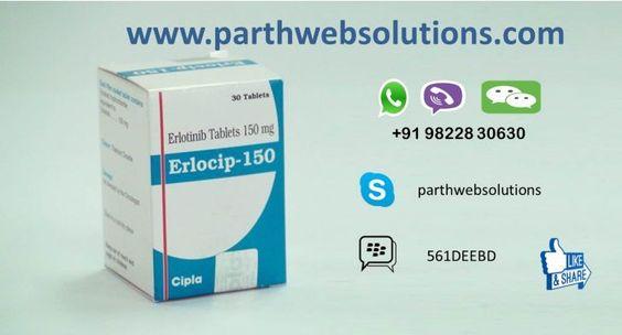 Erlocip (Erlotinib Tablets)  Erlocip (Erlotinib) is an anti-cancer medication which works by blocking the epidermal growth factor receptor (EGFR). Thi