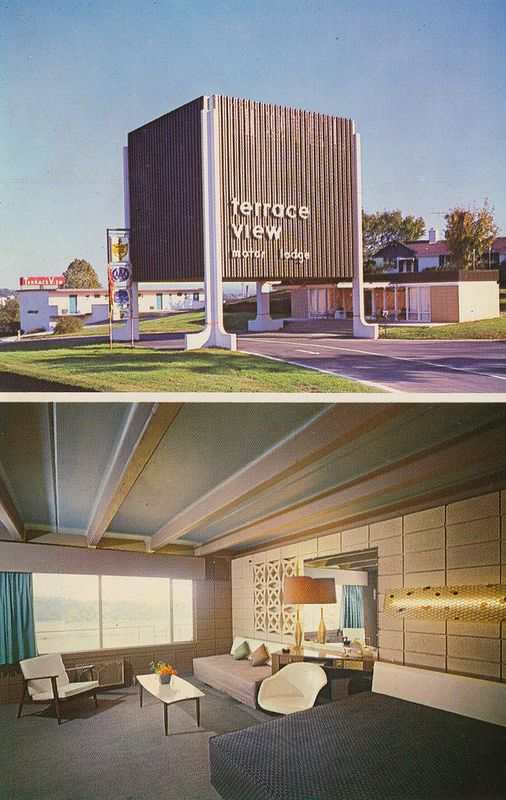 Terrace View Motor Lodge - Knoxville, Tennessee | Mid century, Mid ...