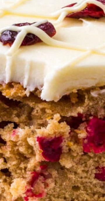 Cranberry Christmas Cake.Cranberry Christmas Cake