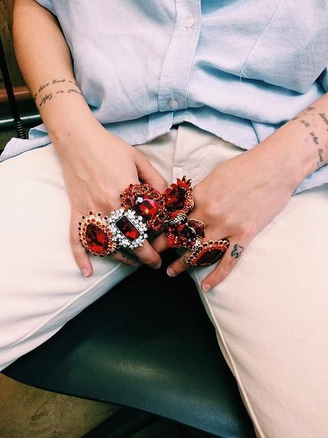This Woman Is Making Period Stain Themed Jewelry