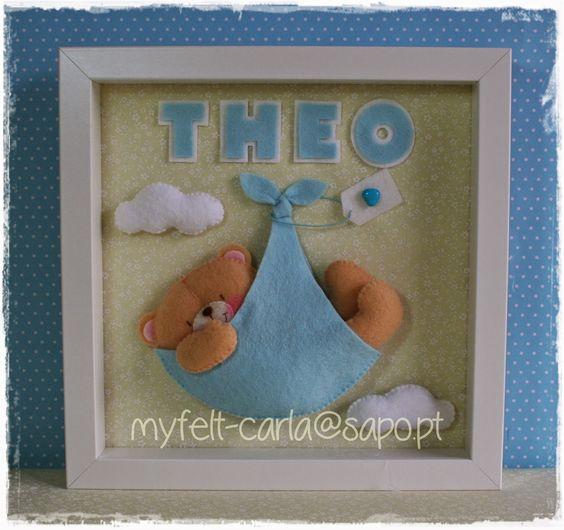 Um quadro para o Theo, que acabou de nascer!