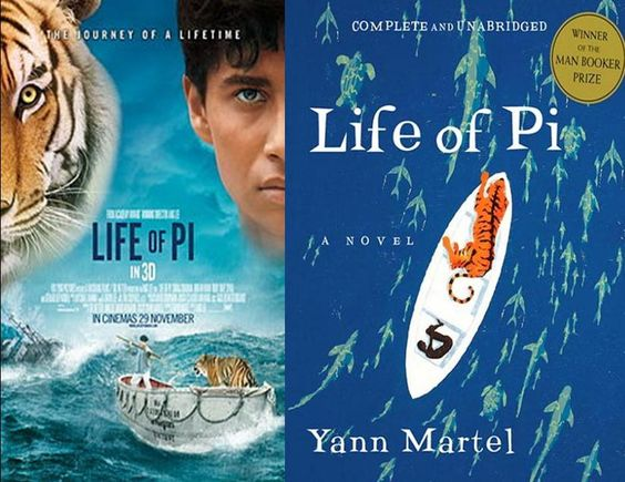Life of Pi: read the book before the movie.