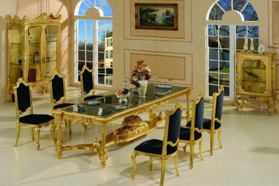 barock esszimmer barock möbel barock stuhl barock living Pinterest - barock mobel modern ideen