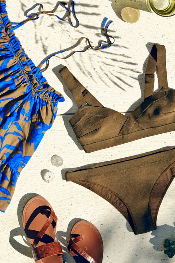 Chic stripes to float your boat and grown-up swimwear ' H&M Summer 16:
