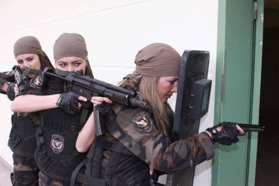 The Women Warriors Of The Turkish Special Forces.