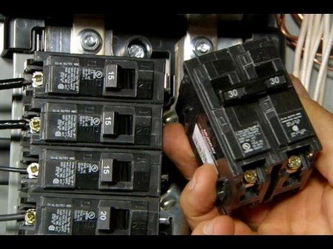 How To Upgrade An Electrical Panel To 200 Amp Service This Old House Diy Electrical Electrical Panel Home Electrical Wiring