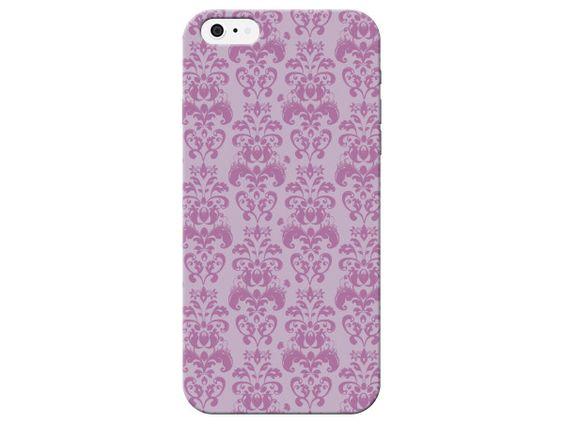 Pink Damask Pattern Phone Case