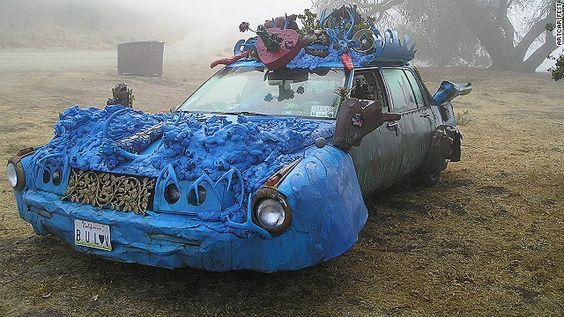 As the name suggests, ArtCar Fest is a celebration of artfully kitted-out cars.