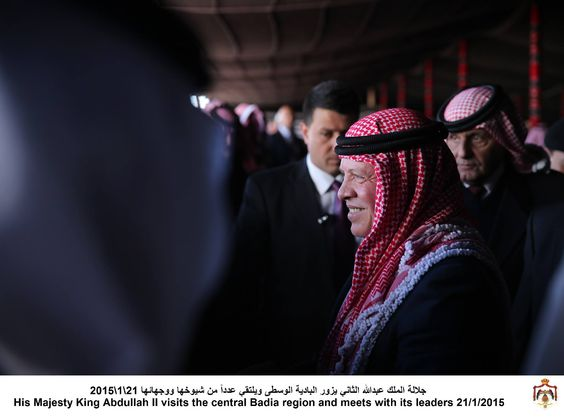 King Abdullah II of #Jordan