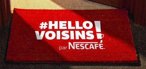 [On déguste] Mettez un visage sur le paillasson de votre voisin grâce à nescafé - Fast and food @fastandfood