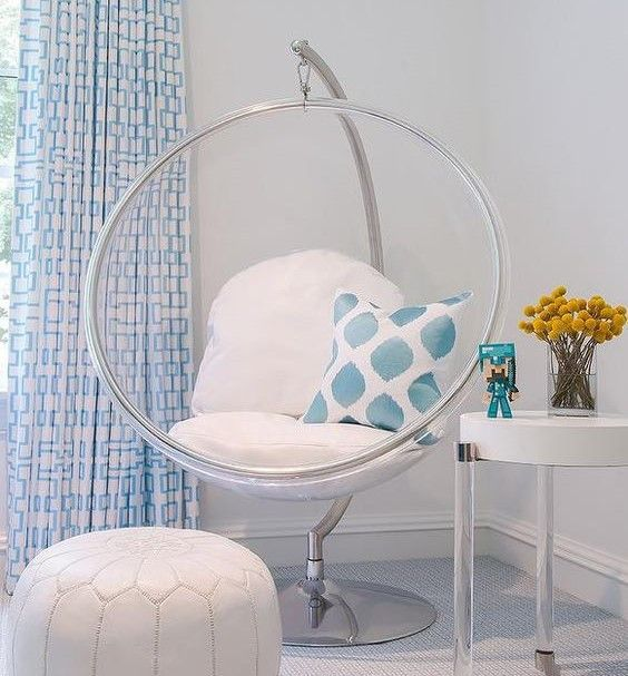 New House: Girls Bedroom Ideas | Bubble chair, Indoor chairs