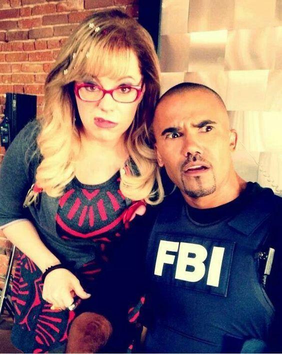#Minds: Say what?? lol Garcia & Morgan (Vangsness/Moore)