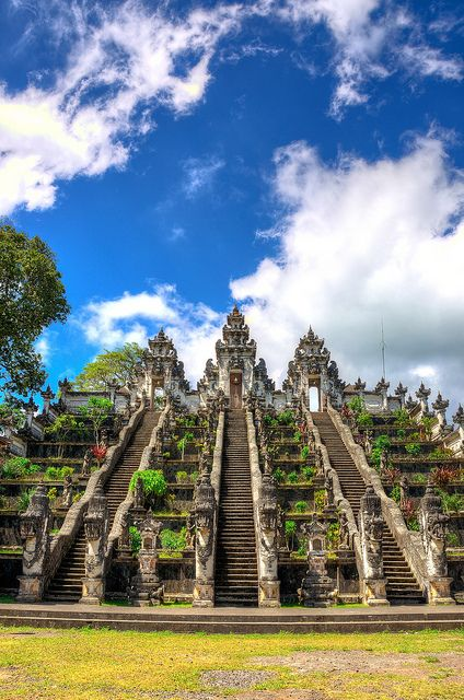 Bali, Indonesia. Another item to add to the bucket list. Going to Thailand in two weeks and I