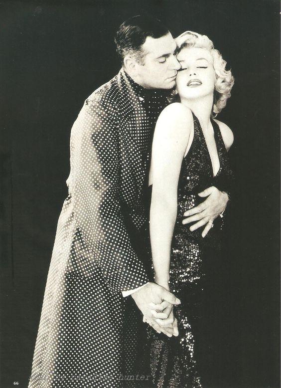 Marilyn monroe Laurence Olivier by Greene 1957