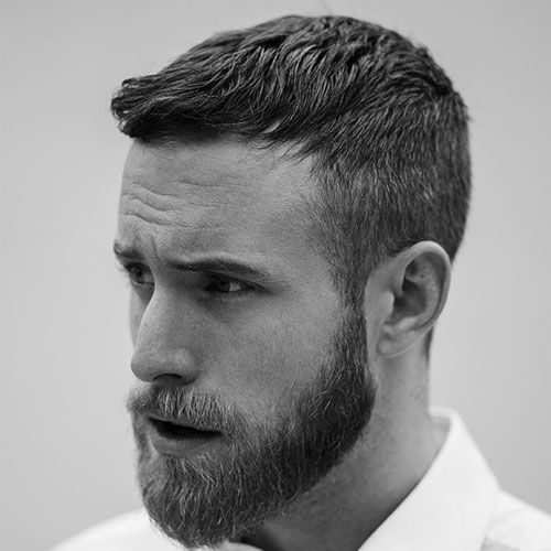 29 Best Short Hairstyles With Beards For Men 2020 Guide Mens Haircuts Short Beard Hairstyle Mens Hairstyles Short