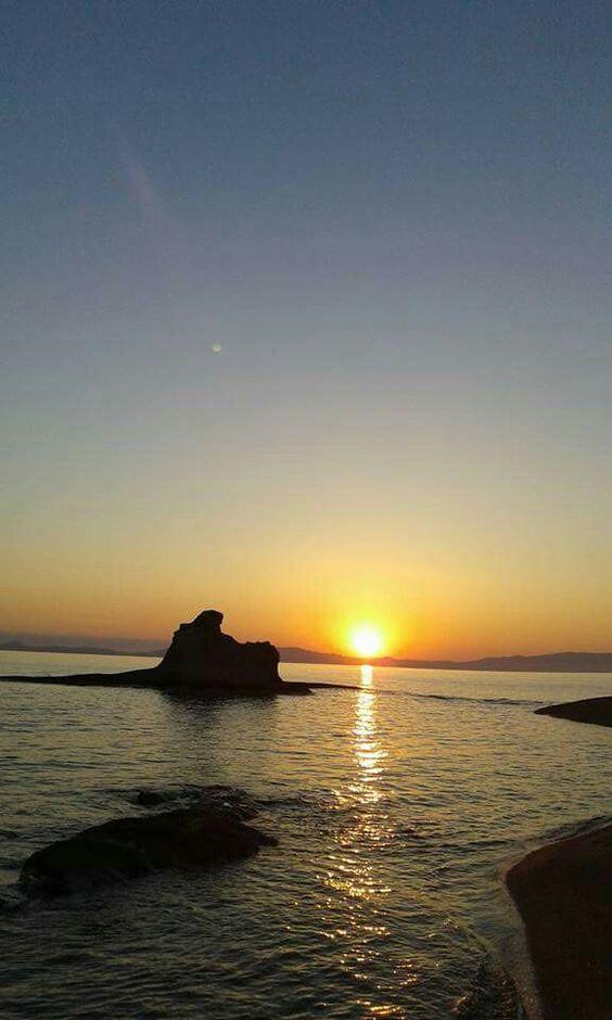 Ηλιοβασίλεμα στα Κακούδια