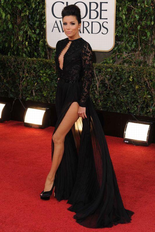 Eva Longoria - Globos de Oro 2013