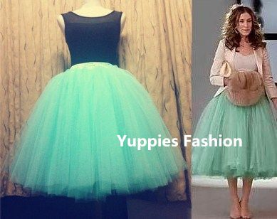 All Colors 9 Layers Tea Length Women Skirts Princess Celebrity Tulle Skirt Adult Tutu Party Gown Bolsos Saias Femininas Vestidos