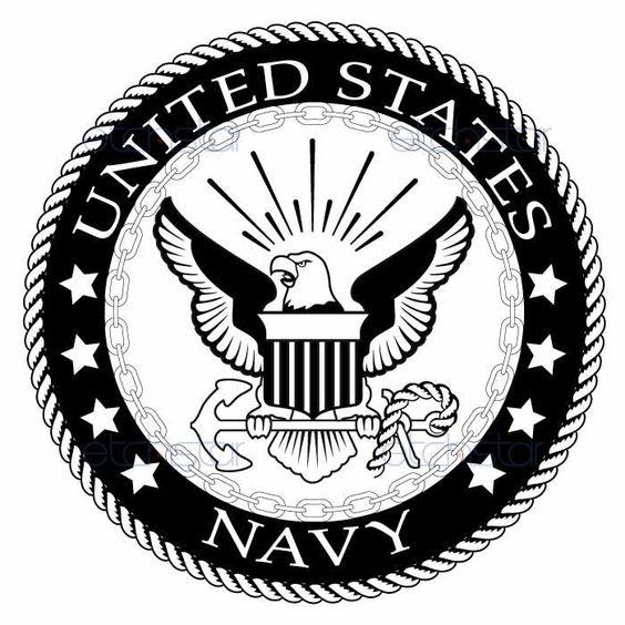 US Navy Large Back Pat...