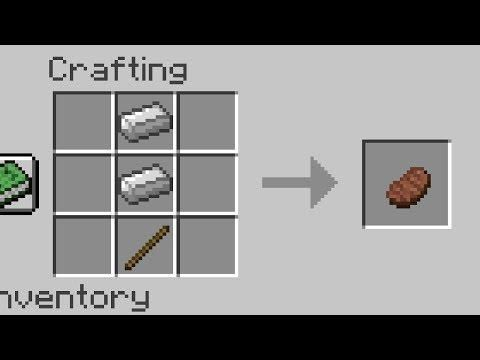 Minecraft But The Crafting Recipes Don T Make Sense Crafting Recipes Minecraft Minecraft Crafting Recipes
