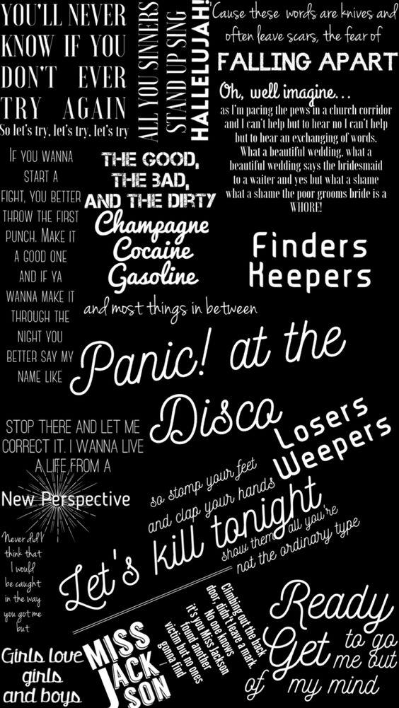 Panic! At The Disco-Lyrics