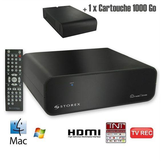 Lecteur enregistreur multimédia STOREX HMS-362TV for 100,00 € #onselz