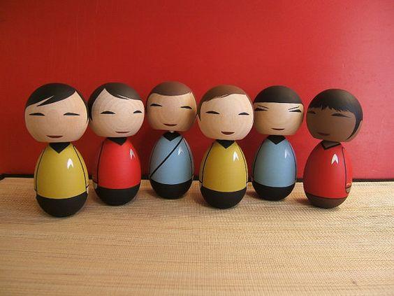 Star Trek Kokeshi