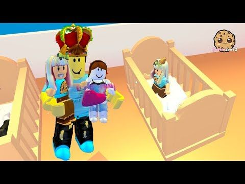 My New Family Adopt Me Roblox Family Game With Cookie Swirl C