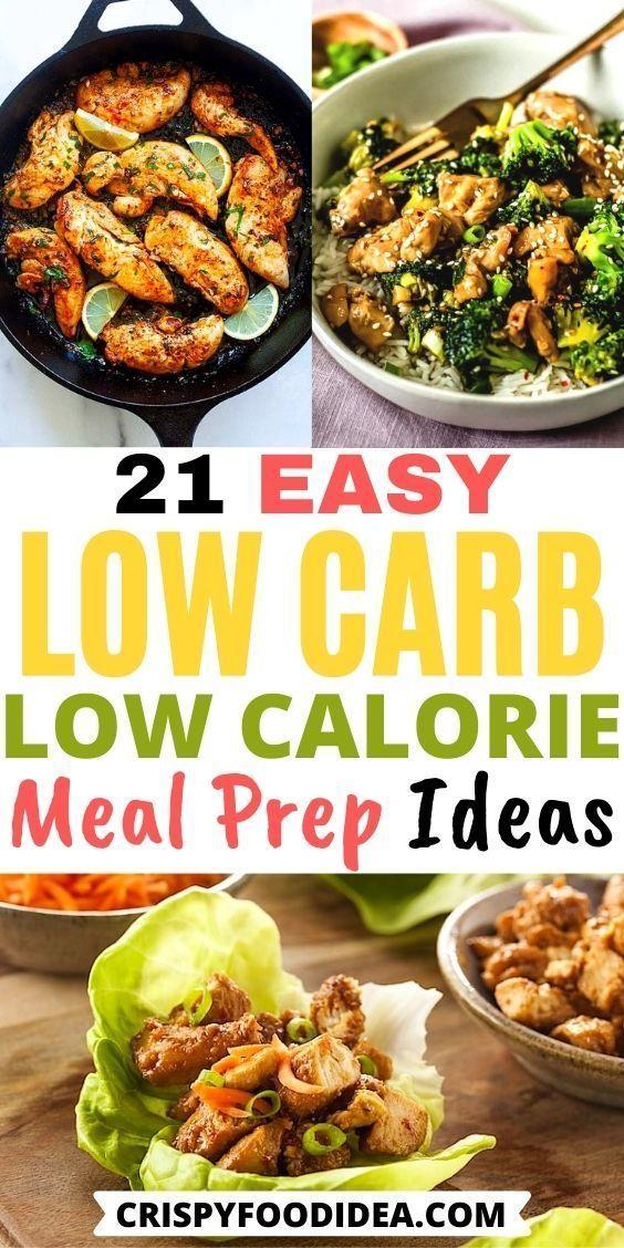 Low Carb Low Calorie Recipes