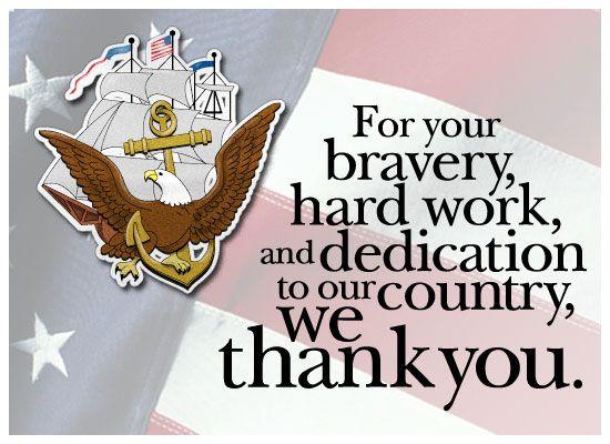 Navy Veterans Day Poem   MyFunCards   Thanks - Navy - Send Free ...