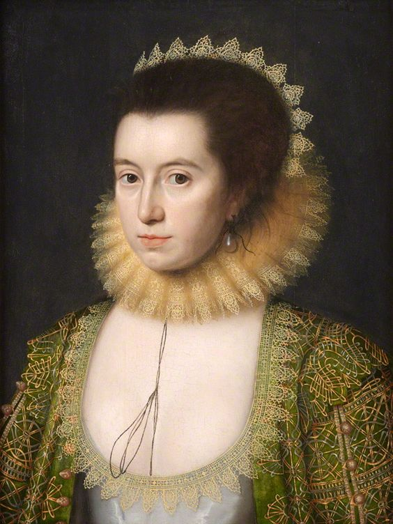 Anne, Countess of Pembroke (Lady Anne Clifford), by William Larkin, circa 1618 - NPG 6976 - © National Portrait Gallery, London