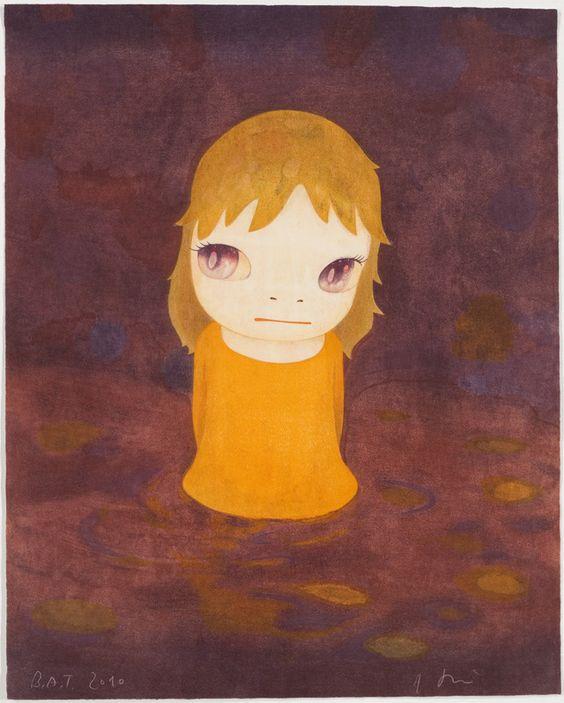 "Japanese woodcut, Ukiyo-e style, 21-7/8"" x 17-1/2"" (55.6 cm x 44.4 cm), sheet21-7/8"" x 17-1/2"" (55.6 cm x 44.4 cm), image, Edition 9 of 50Edition of 50, 2010"