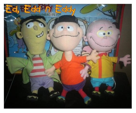 Ed, Edd n Eddy Bobblehead plush toys | Cartoon Network ...