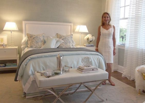 Modest Hamptons Bedroom